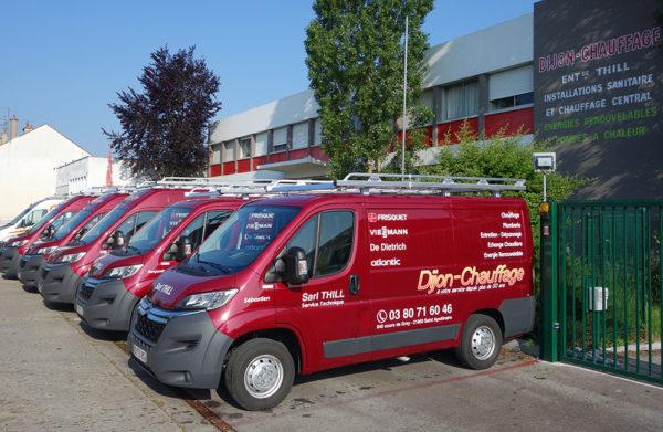 Flotte de véhicules Dijon Chauffage
